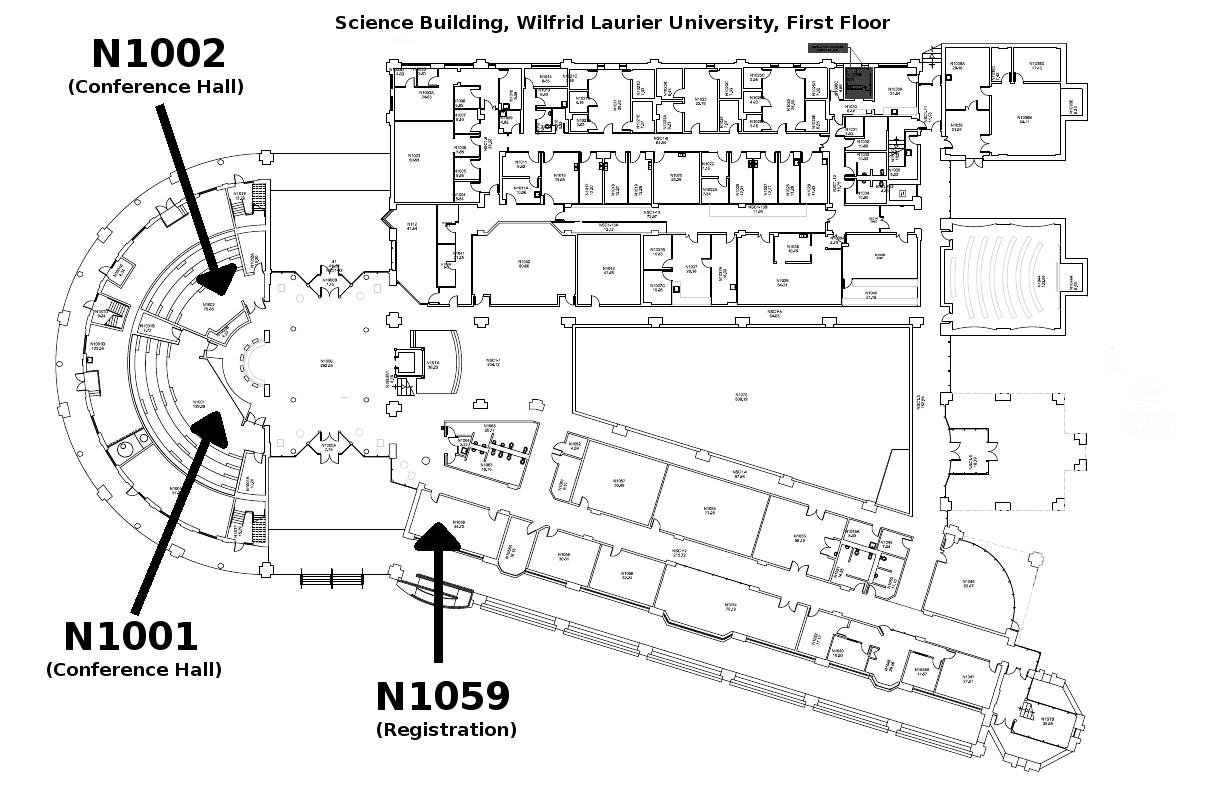 Wilfrid laurier science building map